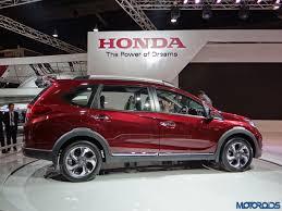 auto expo 2016 seven seater honda br v compact crossover comes