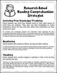 paragraph stories for reading comprehension best 25 reading comprehension strategies ideas on