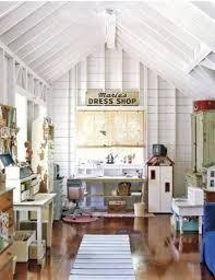 Closet Craft Room - attic rooms