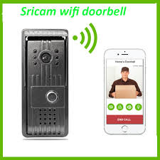 sricam db002 remote control door open wifi video door free phone