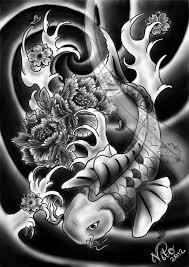 best black koi fish design fabulous tattooshunter com