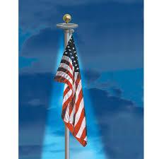 Annin Solar Flagpole Light Solar Flagpole Light Flag Code Solar And Lawn