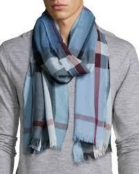 light blue burberry scarf burberry lightweight cashmere blend mega check scarf blue where to
