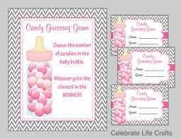 baby shower guessing baby shower candy bottle or candy jar guessing printable