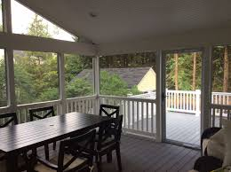 Covered Porch by Screened Porches Maryland Custom Outdoor Builder Decks