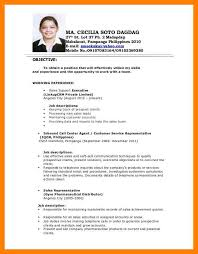 Sle Resume For Teachers Applicant Philippines 8 Applicant Resume Sle Time Table Chart