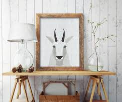 Deer Decor For Home by Mid Century Modern Wall Art For Home Decor All Modern Home Designs