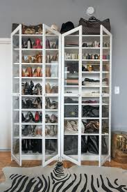 hanging shoe organizer racks copper pipe shoe storage creative ideas for shoe racks