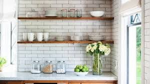 kitchen wall cabinets with glass doors b q open shelving in the kitchen pros and cons realtor