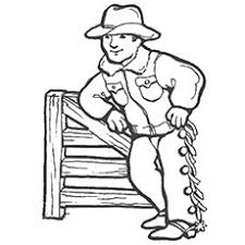 top 25 free printabe cowboy coloring pages
