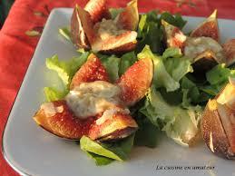 cuisiner les figues la cuisine en de maryline figues au rocamadour chaud et miel