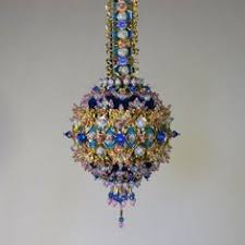 beaded ornaments kits for sale beaded satin ornaments