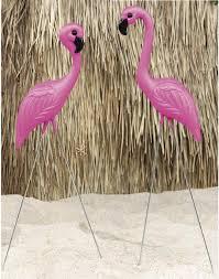 pink flamingo yard ornament 2ct zurchers