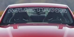 mustang windshield decal product side steed vinyl graphic pony stripe decal 3m vinyl