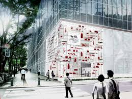 Flag Store Online Stacked Modules Flagship Store In Tokyo Detail Magazine Of