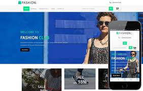 download template toko online simple online shopping mobile website templates
