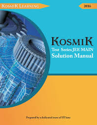 test series for jee main with solution manual physics chemistry