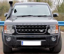 land rover discovery black black chrome disco 4 2014 facelift style front grille for land