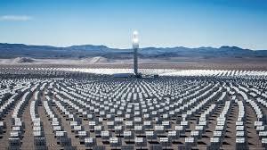 Solar Plant Lights by This Huge New Solar Farm Near Las Vegas Provides Power U2014 Fast Company