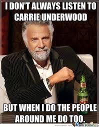 Carrie Meme - carrie underwood by blownxawayx94 meme center