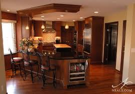 Kitchen Peninsula With Seating by Multicolor Contemporary Kitchen Montgomery Oh