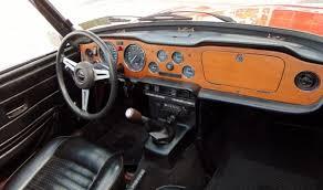 Tr6 Interior Installation 1976 Triumph Tr6 Red With Black Interior Overdrive Excellent