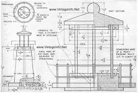 free building plans free lighthouse building plans crafts