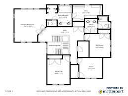 matterport floor plans rendering real premium property marketing