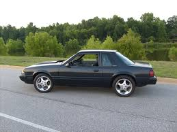 Black Fox Body Mustang Flat Black Fox Body Mustang Pics