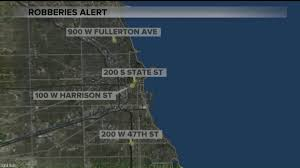 Cta Map Red Line String Of Robberies Reported At Cta Red Line Stops Wgn Tv