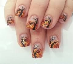 fall into fall with these breezy wicked and oh so cool nail designs