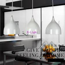 Led Dining Room Lights by Modern Art Pendant Lamps Led Painted Aluminum Classic Pendant