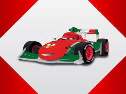 cartoon sports car cartoon race car