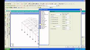truss design staadpro v 2007 youtube
