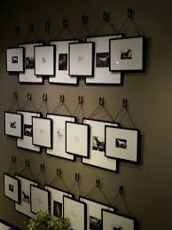 picture hanging ideas here s a rather unique idea for a gallery wall of stacking frames