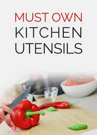 Kitchen Utensils The Ultimate Kitchen Utensil U0026 Tool List Kitchen Gadget Box