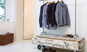 diy garderobe diy garderobe aus rohren selber bauen das haus