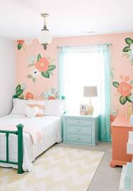 Images Of Bedroom Color Wall Best 25 Aqua Girls Bedrooms Ideas On Pinterest Coral Girls
