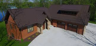 Metal Roof Homes Pictures by Wautoma Standing Seam Metal Roofing Metal Roofs In Wi