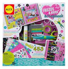amazon com alex toys craft friends 4 ever scrapbook toys u0026 games