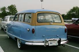 rambler car for sale 1952 nash rambler blue wagon amc american motors corporation