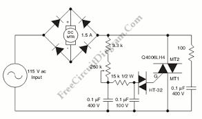 permanent magnet motor control with scr circuit diagram world