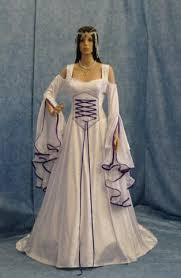 elvish style wedding dresses renaissance dress bridal gown handfasting dress elven