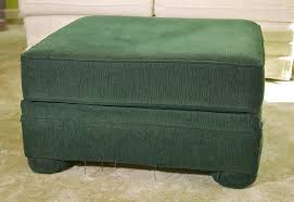 Slipcover Ottoman Chic Slipcover Makes An Ottoman New And Cool Again Sew4home