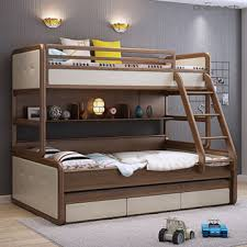 Modern Bunk Beds For Boys China Modern New Style Solid Wood Furniture Bunk Beds