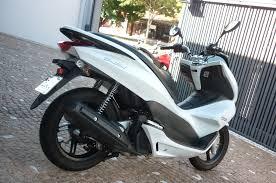 pcx 150 branca 2015 roda brasil motos