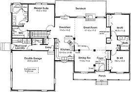 farm house floor plans traditional farmhouse ranch 6712mg architectural designs