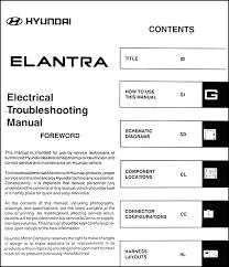 2006 hyundai elantra repair manual 2006 hyundai elantra electrical troubleshooting manual original