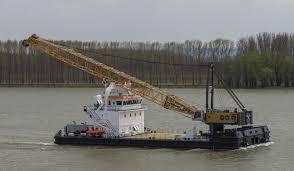 damen crane barge 4518 multirole design and high tech systems