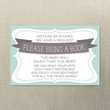 bring a book instead of a card baby shower baby shower bring a book instead of a card wording 17001